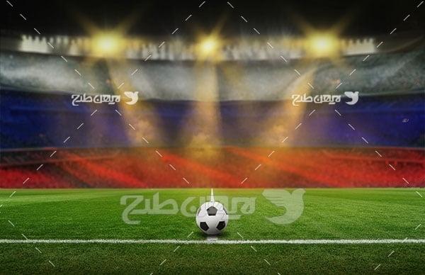 تصویر ورزشی از توپ