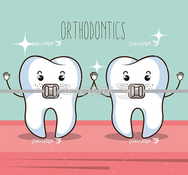 وکتور گرافیکی دندان
