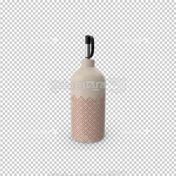 تصویردوربری سه بعدی ظرف نوشیدنی