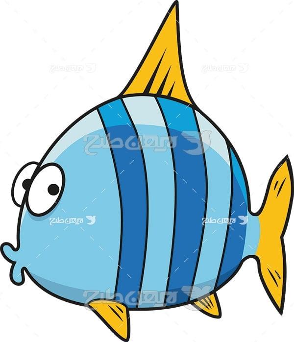 وکتور ماهی