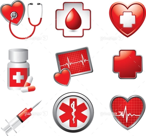 وکتور و آیکن های پزشکی