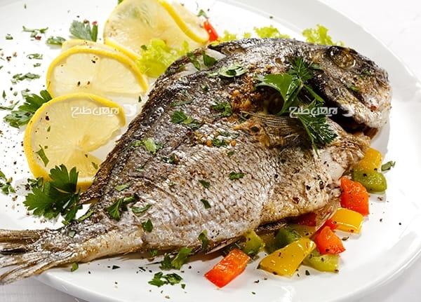 تصویر با کیفیت از ماهی کباب