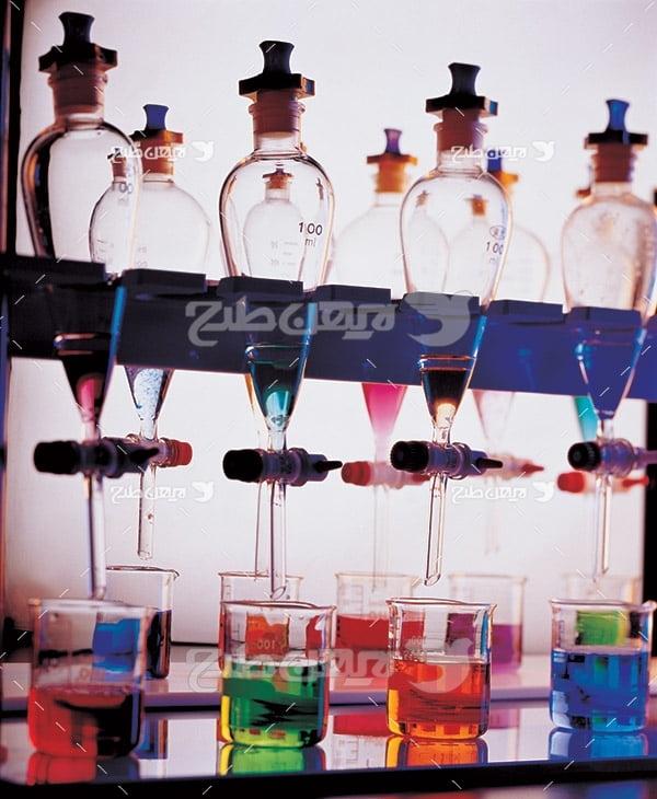 عکس لوازم آزمایشگاه