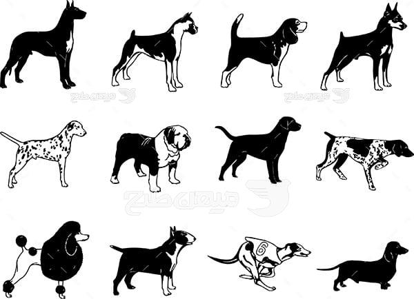 وکتور سگ