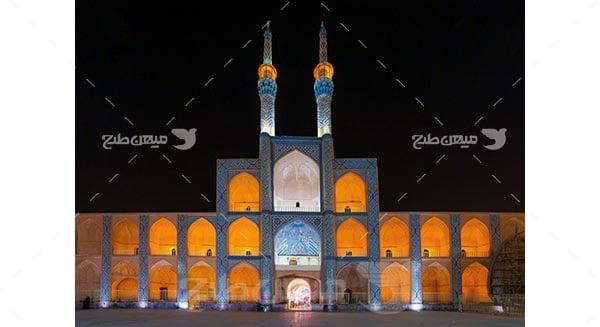 عكس مسجد جامع يزد
