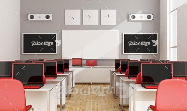 عکس کلاس آموزش کامپیوتر