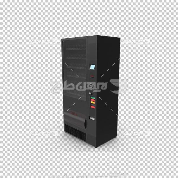 تصویردوربری سه بعدی نوشیدنی باکس سرور