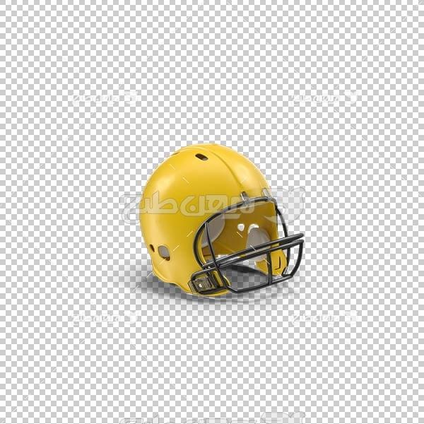 تصویر سه بعدی دوربری کلاه فوتبال آمریکایی