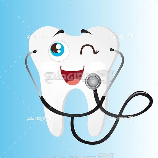 وکتور گرافیکی دندان پزشکی