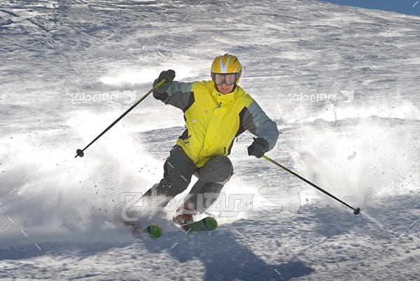 عکس ورزش اسکی روی برف