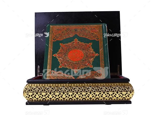 عکس قرآن با جعبه