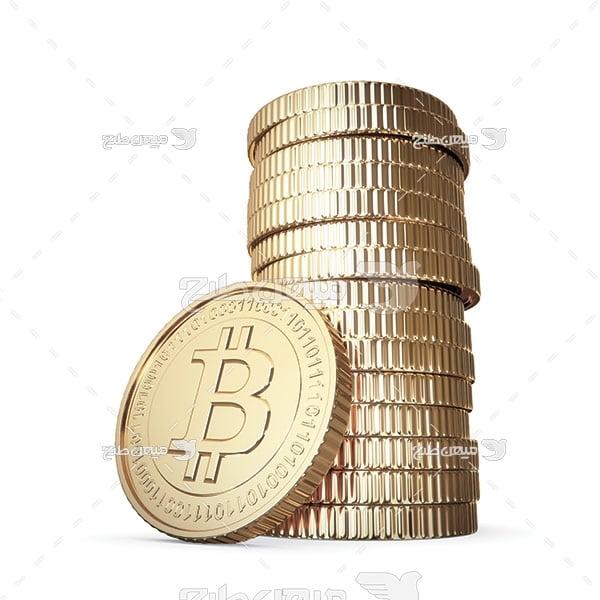 عکس سکه بیت کوین
