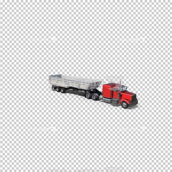 تصویر دوربری سه بعدی کامیون