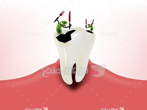 دندان و میکروب
