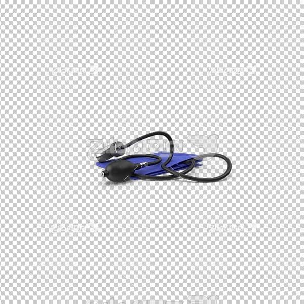تصویر دوربری سه بعدی وسیله اندازه گیری فشار خون