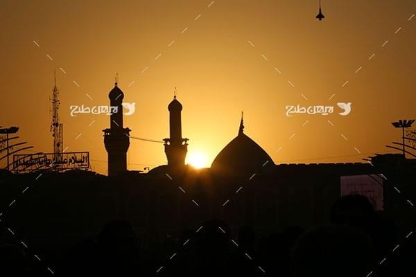 تصویر با کیفیت از حرم،گنبد و ضریح امام حسین علیه السلام