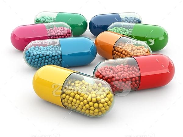 عکس کپسول های پزشکی دارو