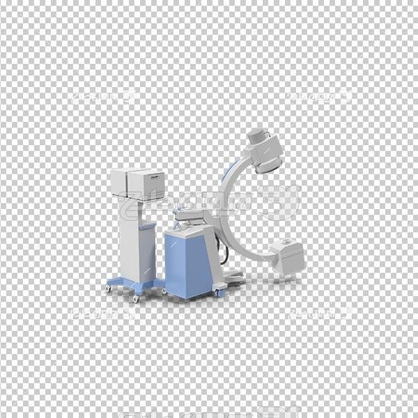 تصویر دوربری سه بعدی دستگاه پزشکی