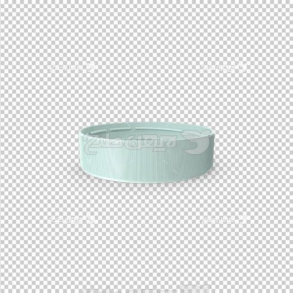 تصویر دوربری سه بعدی درب پلاستیکی