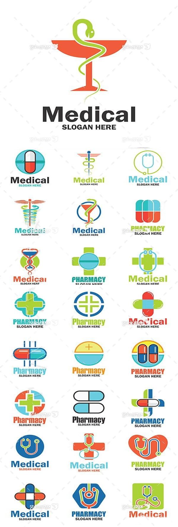 لوگو با موضوع پزشکی