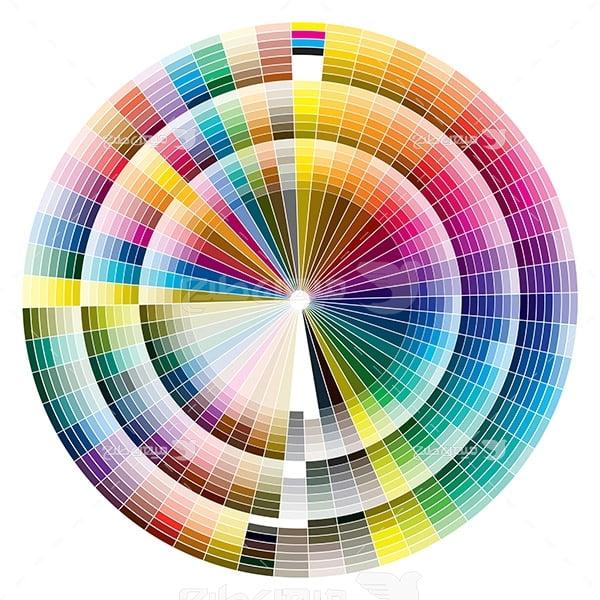 عکس جدول رنگ