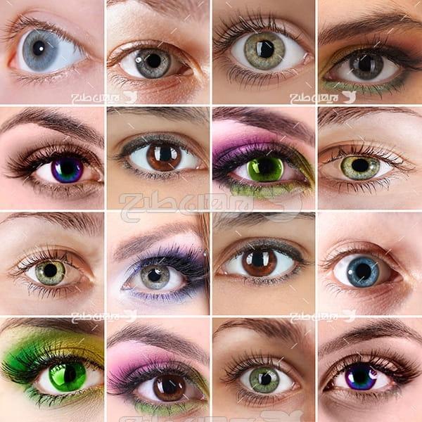 عکس انواع آرایش چشم