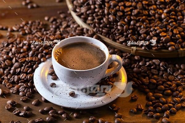 عکس قهوه و نسکافه