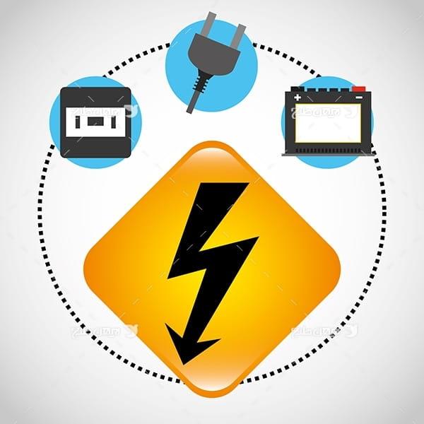 وکتور اتصالات برقی - پریز و دوشاخه و باتری