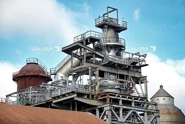 تصویر صنعتی از پتروشیمی