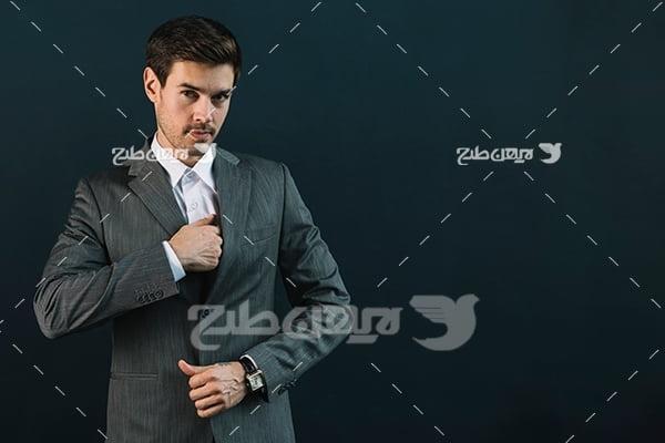 عکس مدل تبلیغاتی آقا
