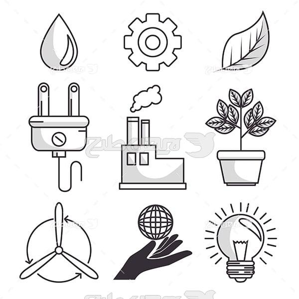 وکتور تولید انرژی برق