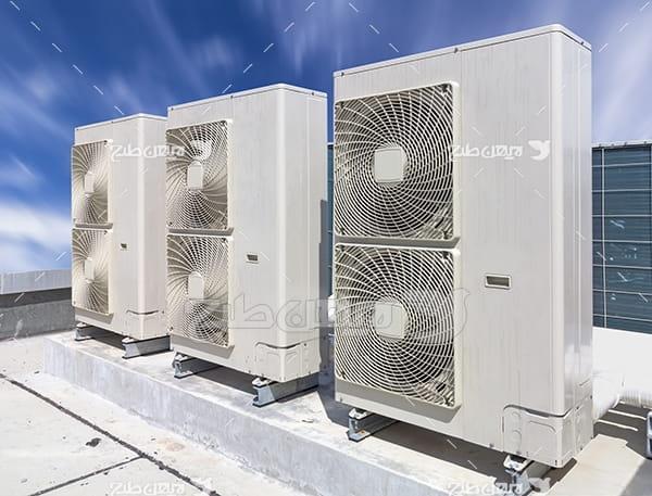 عکس سیستم خنک کننده ساختمان