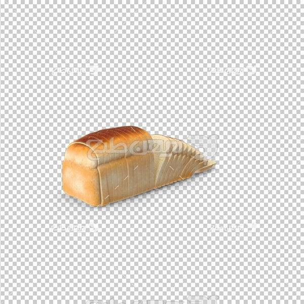 تصویر دوربری سه بعدی نان تست