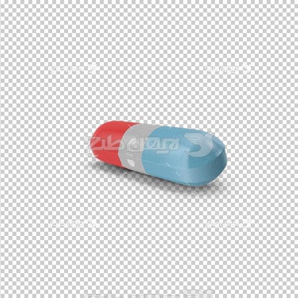 تصویر دوربری سه بعدی کپسول دارویی