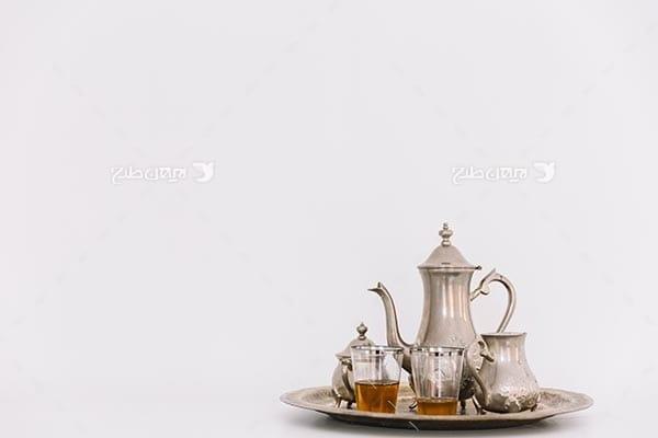 تصویر قوی و چای