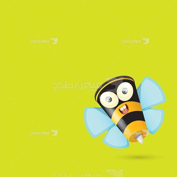 وکتور زنبور عسل