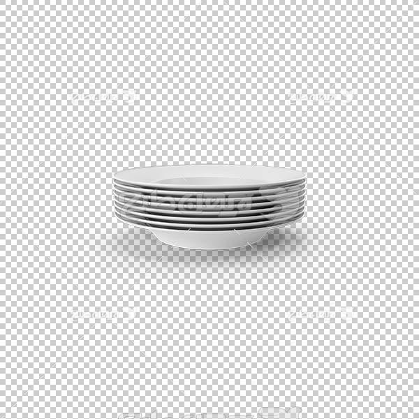 تصویر سه بعدی دوربری ظرف چینی
