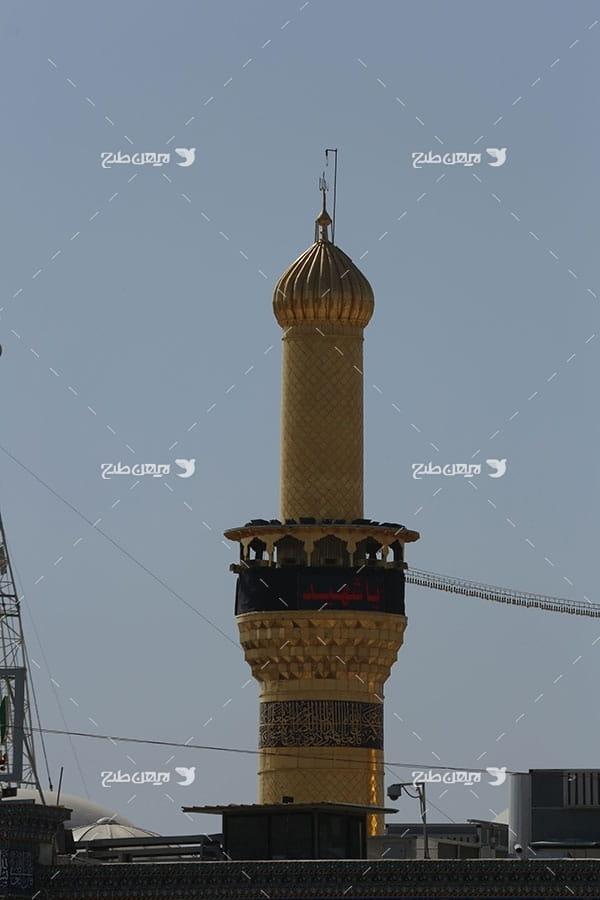تصویر با کیفیت از مناره امام حسین علیه السلام