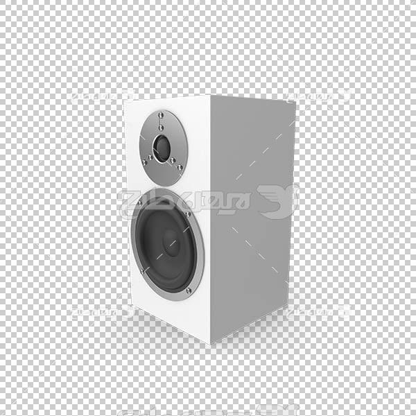 تصویر سه بعدی دوربری اسپیکر