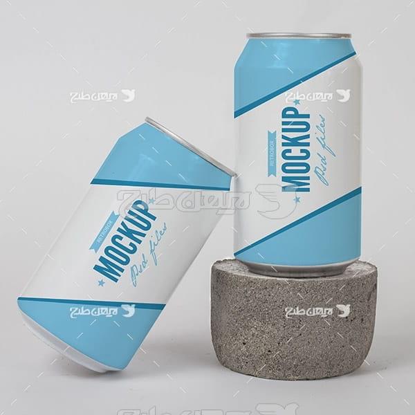 موکاپ بسته بندی نوشیدنی نوشیدنی