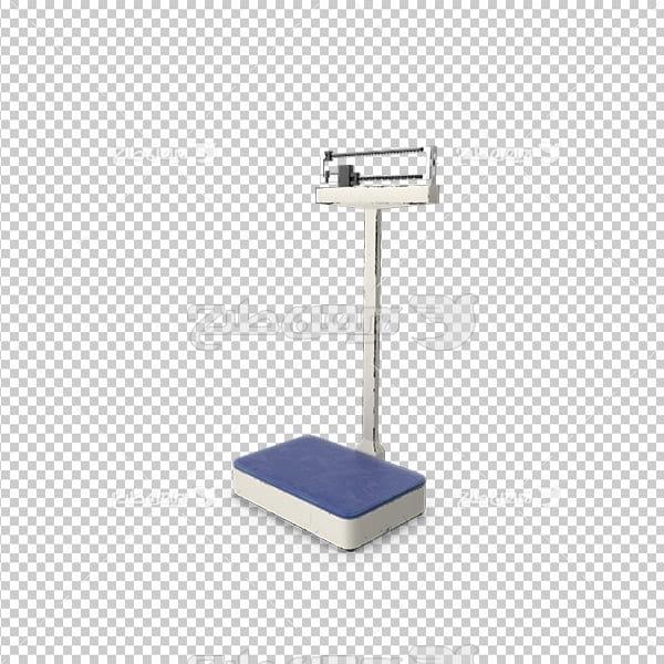 تصویر دوربری سه بعدی ترازو