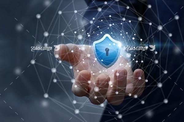 تصویر دست و امنیت در فضای اینترنت