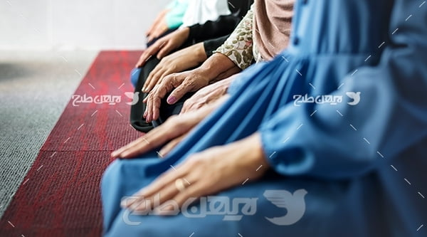 عکس نماز جماعت