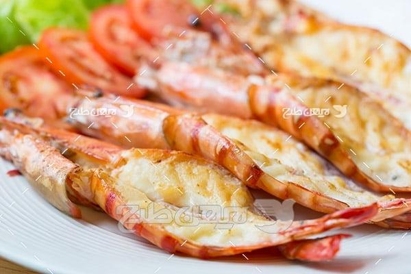 ماهی, گوشت ماهی, غذای ماهی,کباب ماهی سبزیجات