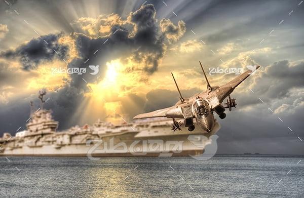 عکس کشتی جنگی