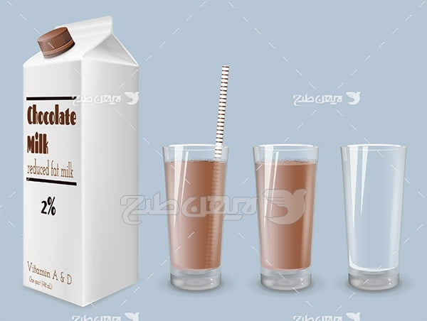 وکتور شیر کاکائو
