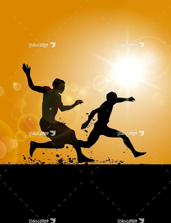 طرح گرافیکی مربوط به ورزش های مختلف