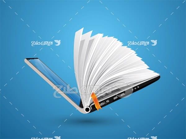 وکتور لپ تاپ