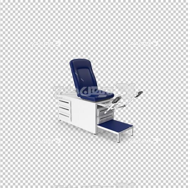 تصویر دوربری سه بعدی تخت بیمار