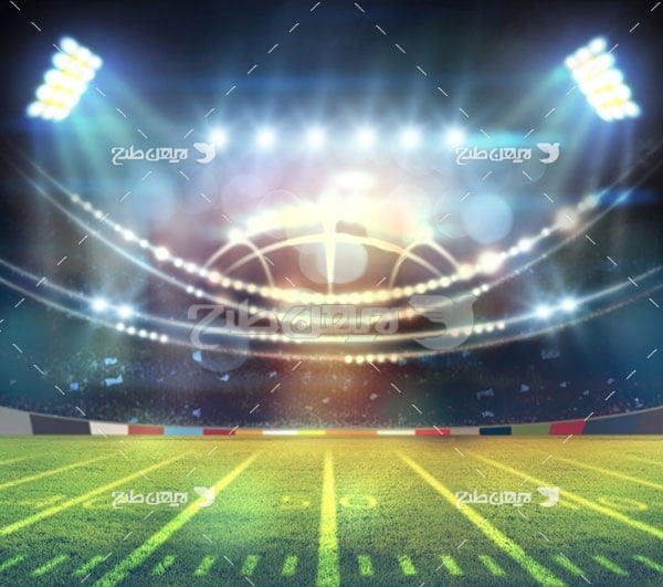 تصویر ورزشی از ورزشگاه فوتبال